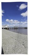 Penarth Pier 4 Beach Towel