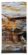 Pictured Rocks Beach Towel