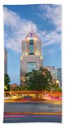 Pittsburgh 16 Beach Towel by Emmanuel Panagiotakis