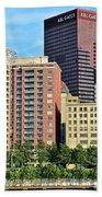 Pittsburgh Building Cluster Beach Towel