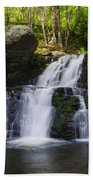 Pocono Mountains - Flowing Cascades Beach Towel