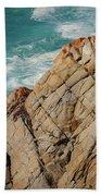 Point Lobos California Beach Towel
