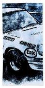 Porsche Carrera Rsr, 1973 - 03 Beach Towel