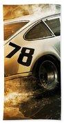 Porsche Carrera Rsr, 1973 - 20 Beach Towel