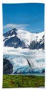 Portage Glacier Beach Towel
