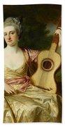Portrait Of Maria Walpole Beach Towel