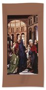 Presentation Of Christ Wga Rogier Van Der Weyden Beach Towel