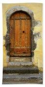 Provence Door Number 6 Beach Towel