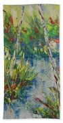 Provence South Of France Beach Towel