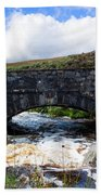 Ps I Love You Bridge In Ireland Beach Towel
