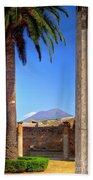 Quiet Vesuvius Beach Towel