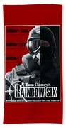 Rainbow Six Beach Towel