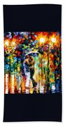 Rainy Dance Beach Towel