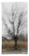 Rainy Day Beach Towel