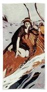Rape Of Europa Beach Towel