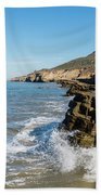 Point Loma Tide Pools Area Beach Towel