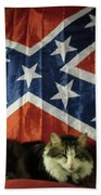 Rebel Cat Beach Towel