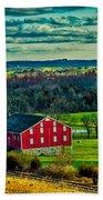 Red Barn - Pennsylvania Beach Towel