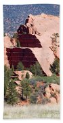 Red Rock Canyon Open Space Park Beach Towel