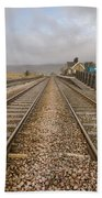 Ribblehead Station Beach Towel