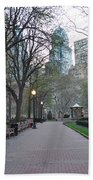 Rittenhouse Square In The Morning Beach Towel
