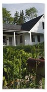 Robert Frost Homestead - Franconia New Hampshire Usa Beach Sheet