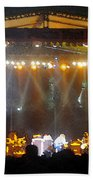 Rock Concert Beach Towel