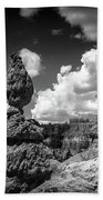 Rock Formations Of Bryce Canyon Beach Towel