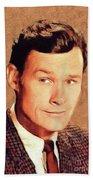Ron Hayes, Vintage Actor Beach Towel