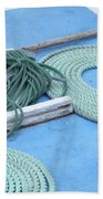 Ropes And Bolt Hook Beach Towel