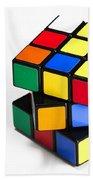 Rubiks Cube Beach Towel