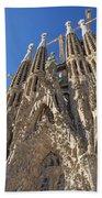 Sagrada Familia In Barcelona Beach Towel