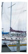 Sailing Beach Towel