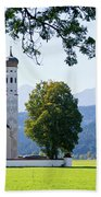 Saint Coloman Church 2 Beach Towel