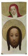 Saint Veronica With The Sudarium Beach Towel
