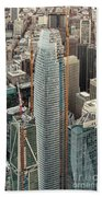 Salesforce Tower In San Francisco Beach Sheet