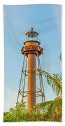 Sanibel Lighthouse Beach Towel