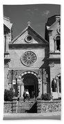 Santa Fe - Basilica Of St. Francis Of Assisi Beach Sheet