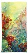 Seaflowers II Beach Towel