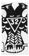 Seal: Freemasonry Beach Towel
