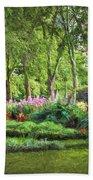 Secret Garden    Op Beach Sheet