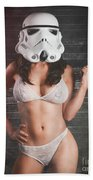 Sexy Trooper Beach Towel