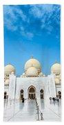 Sheikh Zayed Grand Mosque Beach Towel