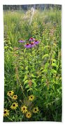 Shelley Kelly Prairie Wildflowers Beach Towel