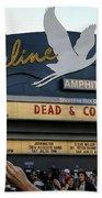 Shoreline Amphitheatre - Dead And Company Beach Towel