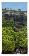 Sigiriya Rock Beach Towel