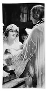 Silent Film Still: Wedding Beach Towel