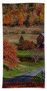 Sleepy Hollow Farm Beach Towel