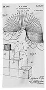 Slinky Patent 1947 Beach Towel
