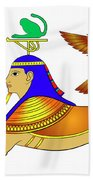 Sphinx - Mythical Creatures Of Ancient Egypt Beach Sheet